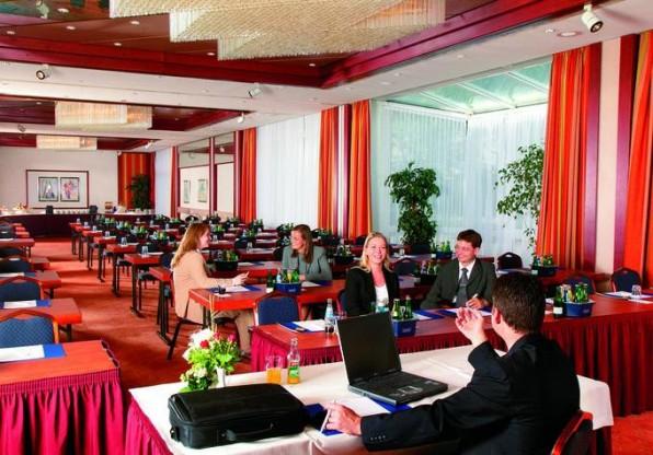 Einer der Konferenzräume des Best Western Queens Hotel in Karlsruhe.