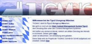 Website der User Group München
