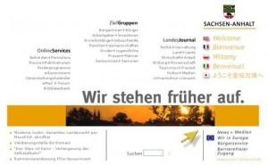 Startseite www.sachsen-anhalt.de