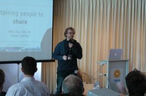 Kasper Skårhøj hielt die Keynote während des User-Group-Treffens im niederländischen Hilversum.