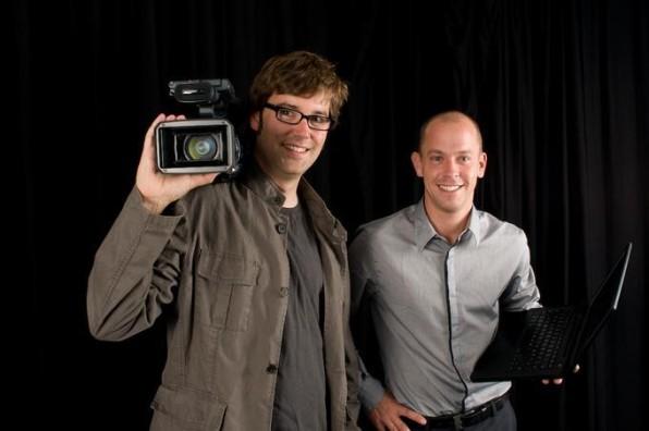 Die make.tv-Gründer: Georg Lenzen, CTO (li.) und Andreas Meyer, CEO.