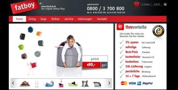 www.sitzclub.de - Gewinner des Usability-Awards - macht vieles richtig: Klares und professionelles Layout, Gütesiegel, Vorteilsargumentation und eingeblendete Telefonnummer sind die wichtigsten vertrauensbildenden Elemente.