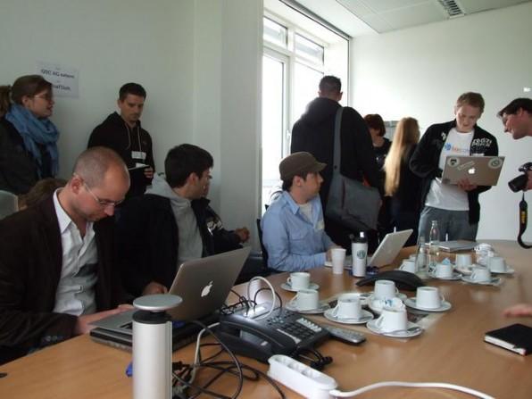 Schnappschuss vom BarCamp Cologne 3.