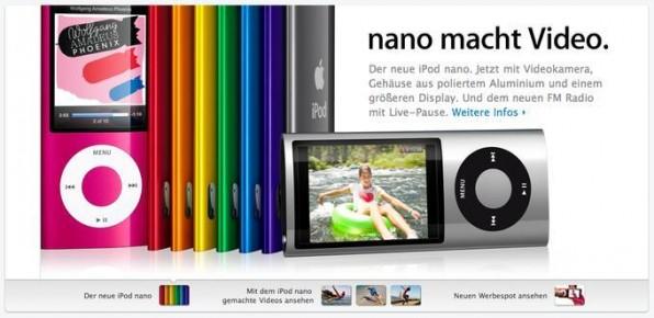 Weniger ist mehr: Whitespaces sowie größere Bilder und Schriften gehören 2010 zum guten Ton.