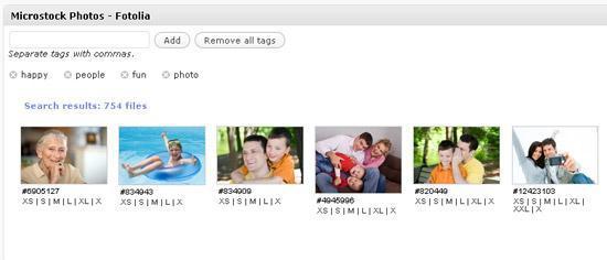 """Das Wordpress-Plugin """"Microstock Photo"""" sucht automatisch nach Fotos, die zu den Inhalten des Blogs passen."""