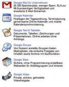 Mit Google Apps bringt man viele Bürofunktionen online in die Cloud.