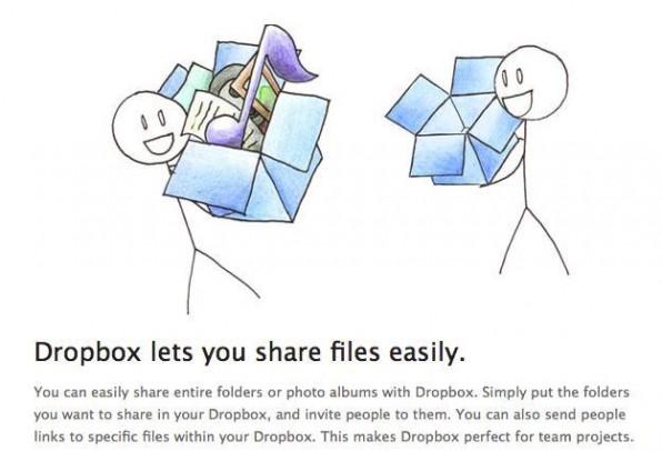 Dienste wie Dropbox können die Anschaffung eigener Server überflüssig machen.