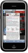 Eine identische Darstellung von herkömmlichen Websites auf dem iPhone scheitert oft schon an dem zur Verfügung stehenden Platz.