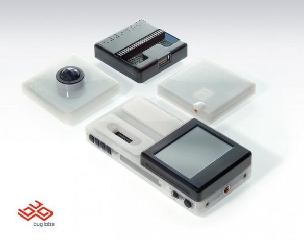 Viele Hersteller setzen mittlerweile zur Vermarktung auf Hackable Hardware. So auch Buglabs.