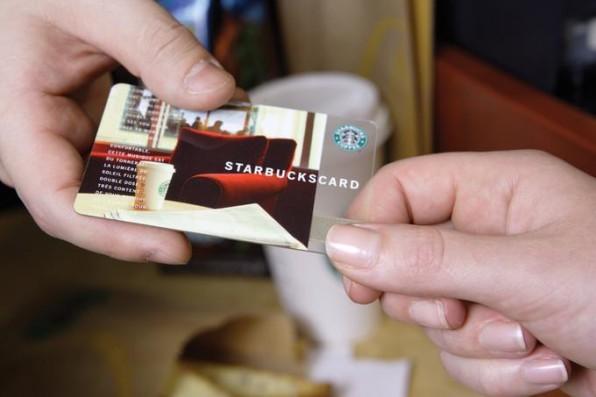Guter Service: Die Starbucks Card gibt es auch als mobile App.