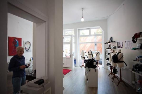 Das Ladengeschäft in Hannover-Linden ist vor allem ein Anlaufpunkt für Kunden, die Produkte selbst abholen oder vor Ort ausprobieren wollen.
