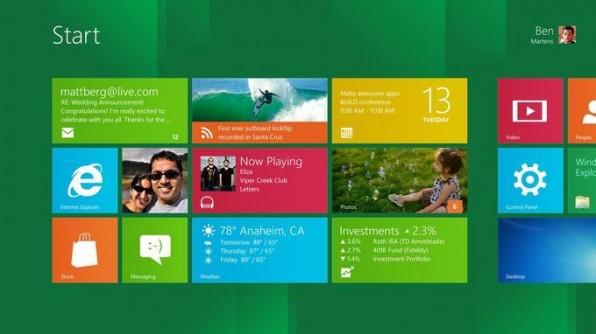 Die Metro-Style-Apps in Windows 8 werden über Microsofts Cloud-Dienst Windows Live in Echtzeit mit anderen Geräten synchronisiert.
