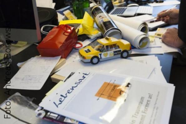 Ohne Taxi geht bei mytaxi selbst auf dem Schreibtisch nix.