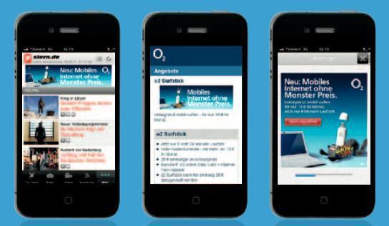 Banner- und Interstitial-Einbindung (Quelle: G+J EMS Mobile)