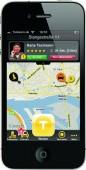 Die mytaxi-App: übersichtlich und mit Spaß-Faktor.