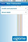 Apps wie die des Payment-Service-Providers Ogone machen das Smartphone zum Zahlungsterminal.