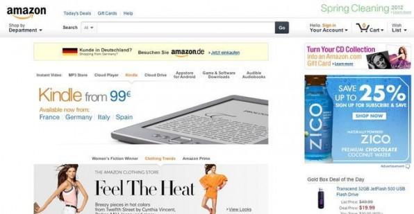 Anbieter wie Amazon lassen dem Nutzer die Wahl, eine bestimmte Region auszuwählen.