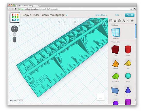 hard 3D Drucker Abbildung 2 Tinkercad