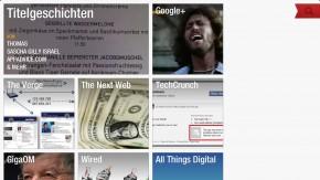 Die beliebtesten Social Reader im Vergleich