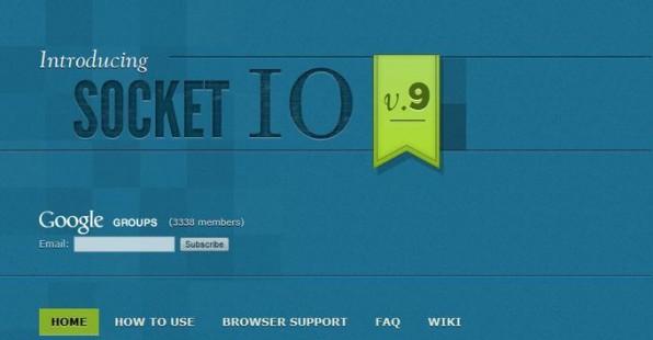Bis alle gängigen Browser die für Node.js benötigten Websockets unterstützen, bietet sich die Socket.io-Bibliothek zur Überbrückung an.