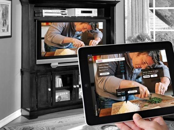 Second-Screen mit Jamie Oliver: Er kocht, der Kunde kauft beispielsweise Zutaten über das iPad.