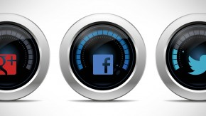 Social Media Dashboards für Facebook, Twitter und Google+