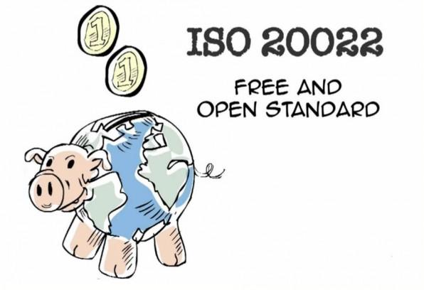 SEPA macht das auf ISO 20022 basierende XML-Zahlungsformat zur Pflicht.
