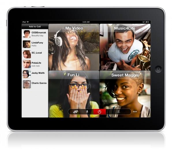 Der Skype-Herausforderer oovoo bietet kostenlose Videokonferenzen mit bis zu zwölf Teilnehmern.