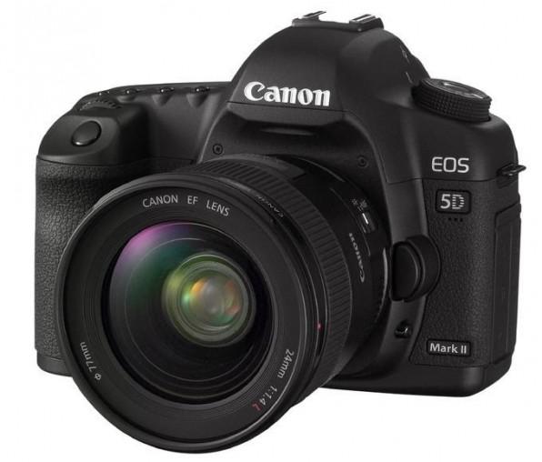 Digitalkameras wie die Canon EOS 5d Mark II liefern heute genauso gute Bildqualität wie professionelle TV-Kameras.