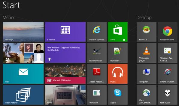Interaktive, große und bunte Kacheln anstatt der bekannten Verknüpfungen: Windows 8 verlangt Bereitschaft zum Umdenken.