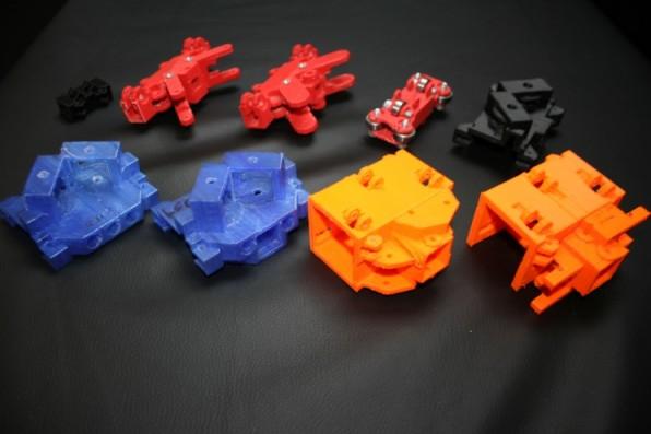 Ein neues Teil ist schnell gedruckt, weshalb eine ständige Iteration im Prototyping-Prozess sinnvoll ist.