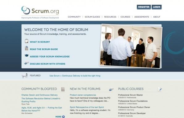 agile webentwicklung scrum