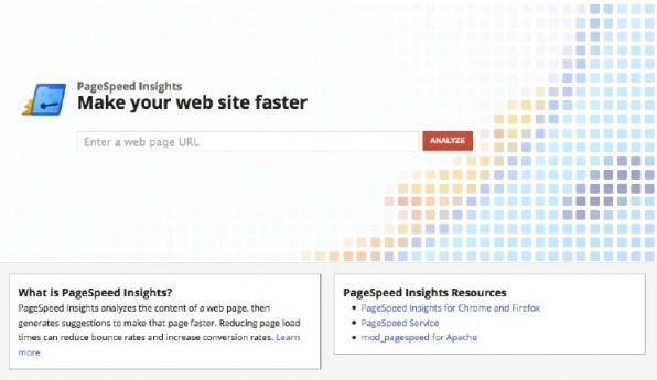 Für die Performance-Analyse lassen sich viele Tools wie beispielsweise die Google Page Speed Insights nutzen.