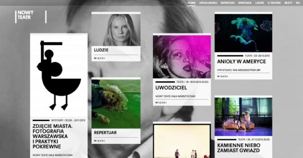 website gestaltung metro design nowy theater