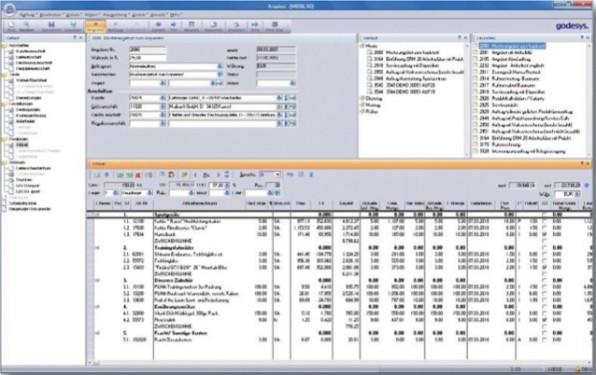 Das godesys ERP fasst im Auftragsmanagement eine Übersicht über Auftragserfassung, Warendisposition, Liefer- und Tourenplanung und Retouren zusammen.
