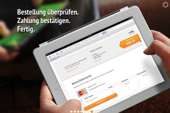 ClickandBuy ermöglicht wie andere Anbieter auch einen vereinfachten Check-out.