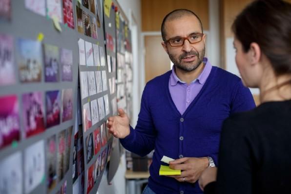 Reza Moussavian will die Deutsche Telekom mit Startup-Mentalität infizieren. Dazu hat er den Shareground ins Leben gerufen.