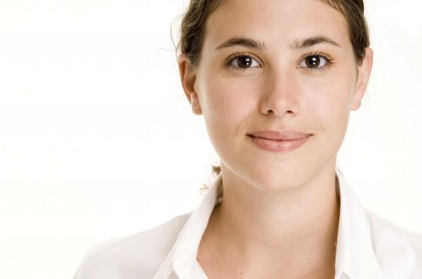 """Existiert nur im Netz: Für die Identität der Recruiterin """"Lena Berger"""" bei XING wurde dieses Stock-Foto genutzt. (Foto: phildate / iStockfoto)"""
