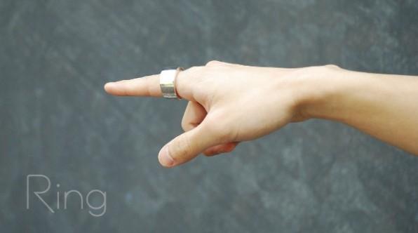 Ring. (Bild: Kickstarter)