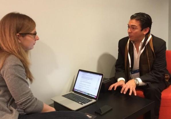 Von der Bühne direkt ins t3n-Interview: Brian Solis nahm sich bei der LeWeb-Konferenz viel Zeit für das Gespräch mit Lea Weitekamp.