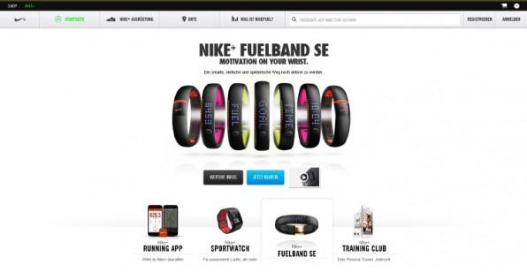 In der Online-Community Nike Plus können Nutzer sich vernetzen und Leistungsdaten vergleichen. So stärkt Nike die Markenbindung. (Screenshot: nike.com)