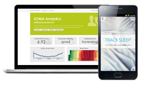 Nur wenige HR-Analytic-Tools tauchen so tief in die Privatsphäre von Mitarbeitern ein wie Soma Analytics, das etwa anhand des Schlafs deren Stressbelastung errechnet.