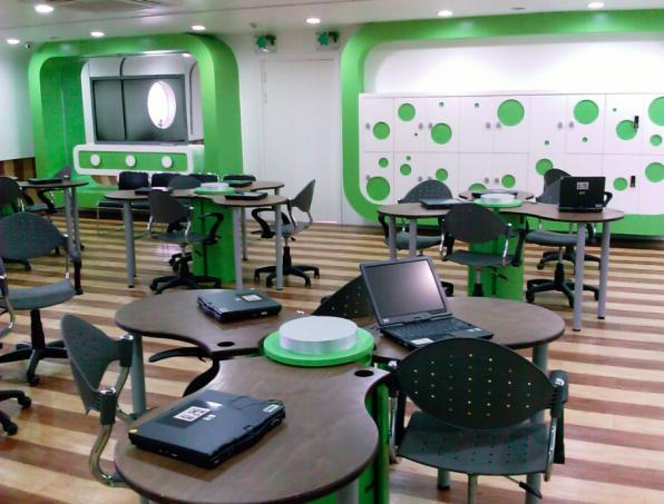 Der KERIS (Korea Education and Research Information Service) untersucht und entwickelt im Auftrag der südkoreanischen Regierung ideale E-Learning-Umgebungen und -Methoden.