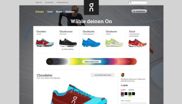 Zwar lassen sich die Schuhe auch online komfortabel bestellen – für eine perfekte Erstberatung empfiehlt On aber einen Besuch beim Fachhändler.