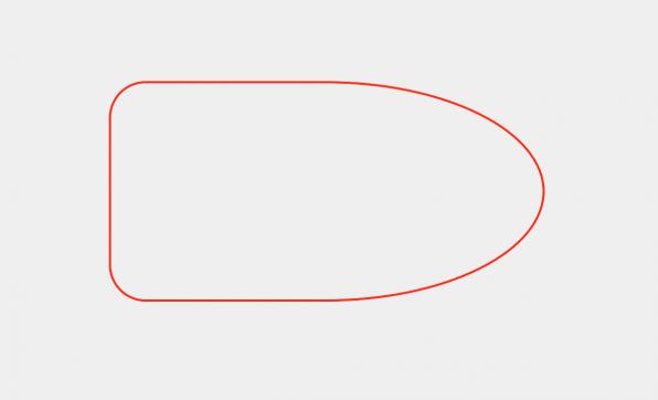 """Mit """"border-radius"""" lassen sich genau definierte Rundungen realisieren."""