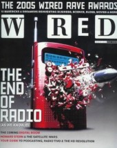 "Die Wired-Ausgabe aus dem Jahr 2005, die Podcasts bekannt machte: ""The end of radio – as we know it."""