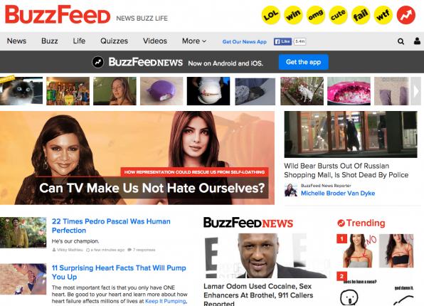Bunt, lustig, auf Augenhöhe: BuzzFeed hat ein besonderes Gespür für Inhalte an den Tag gelegt, die eine Vielzahl von Lesern erreichen.