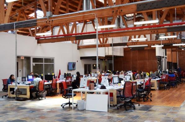 Das Büro in Los Angeles: BuzzFeed gehörte zu den Ersten, die die Medienbranche mit digitalem Startup-Flair aufgepeppt haben.