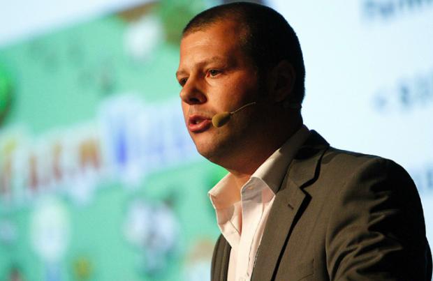 Heiko Hubertz hat die Spieleplattform Bigpoint 2002 in Hamburg gegründet und zu einer der größten Browsergamingportale der Welt ausgebaut. Einen Studienabschluss brauchte er dafür nicht: Sein Können habe immer für sich gestanden. (Foto: Official GDC/Flickr/Creative Commons/CC BY 2.0)
