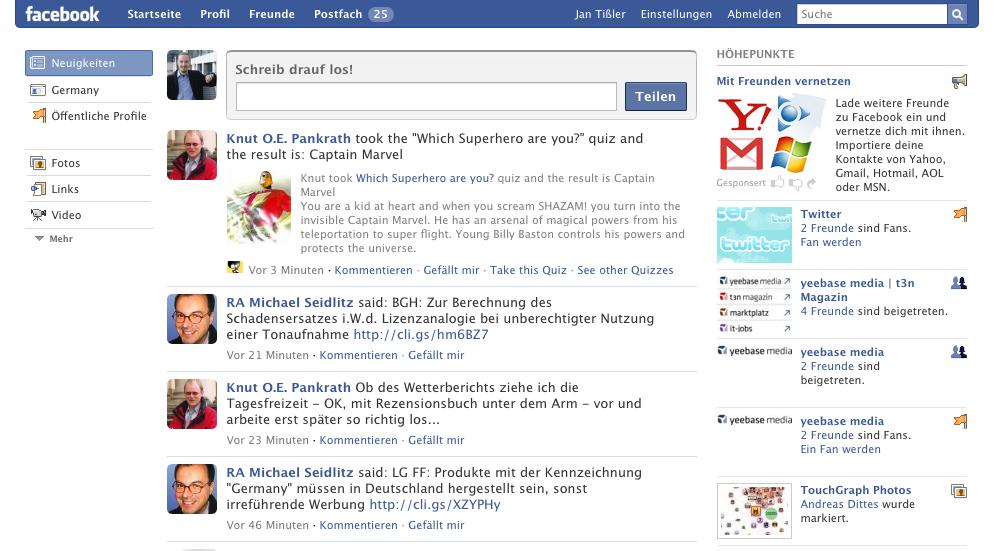 website suchen www facebook anmelden